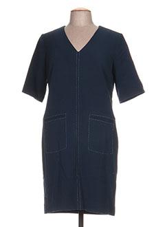 Robe mi-longue bleu NICE THINGS pour femme
