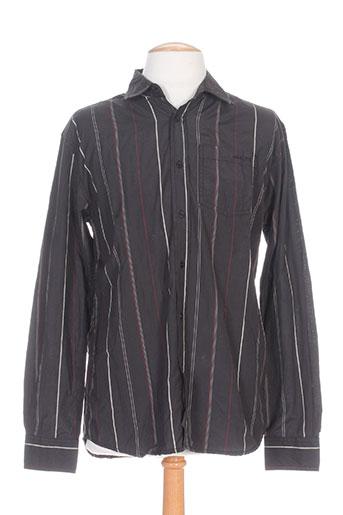 cbk chemises homme de couleur noir