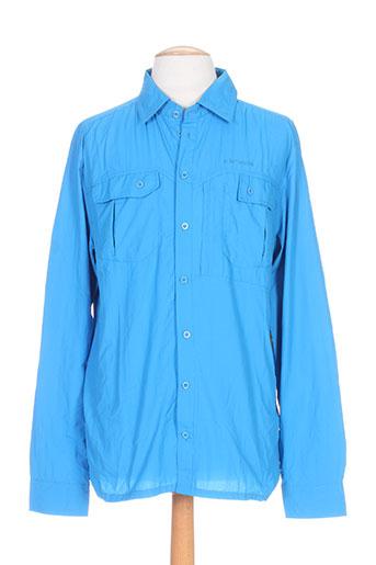 icepeak chemises homme de couleur bleu