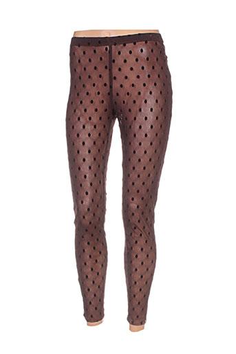 myrine EFFI_CHAR_1 me pantalons femme de couleur marron