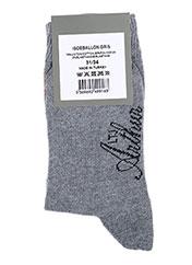 Chaussettes gris ARTHUR pour garçon seconde vue