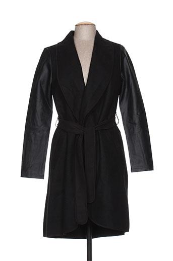 vila manteaux femme de couleur noir