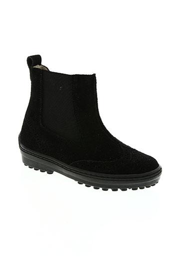 natik chaussures fille de couleur noir
