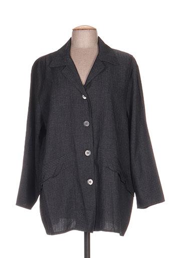 niederberger vestes femme de couleur gris