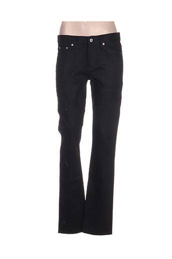 Jeans coupe droite noir BLK DNM pour femme