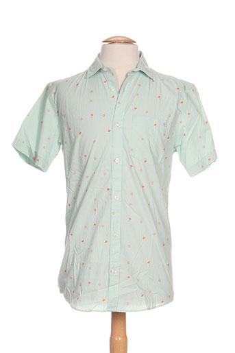 jack EFFI_CHAR_1 jones chemises homme de couleur vert