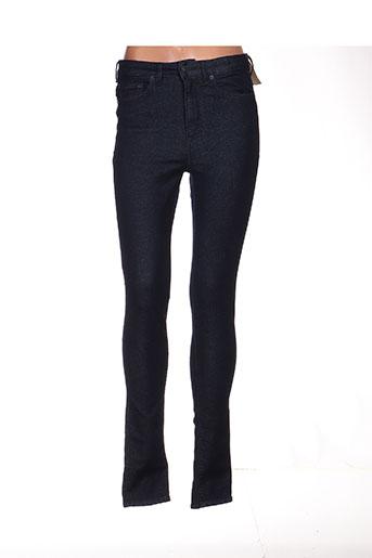 Jeans coupe slim bleu GSUS pour femme