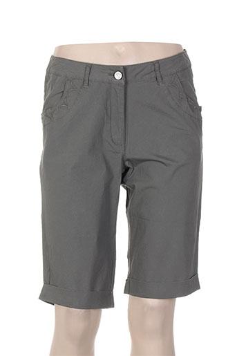 thalassa shorts / bermudas femme de couleur gris