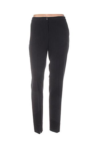 share pantalons femme de couleur noir