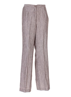 Pantalon chic gris ATIAN pour femme