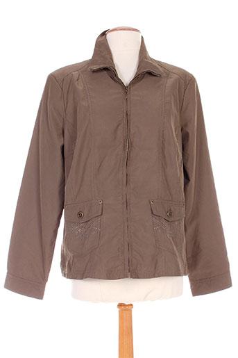 brandtex vestes femme de couleur marron