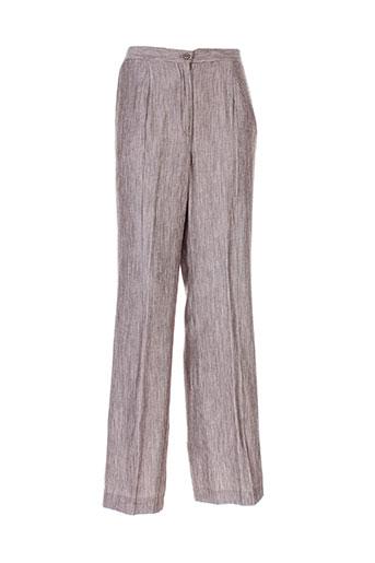 atian pantalons femme de couleur gris