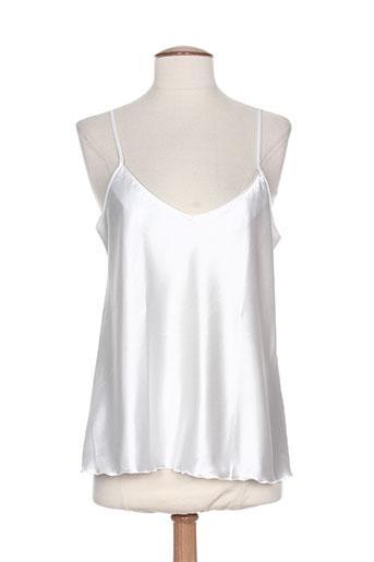 regence chemises femme de couleur blanc