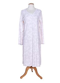 Chemise de nuit rose PILL pour femme