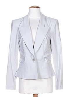 Veste casual gris HELENA SOREL pour femme