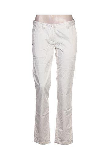 pepe jeans pantalons femme de couleur beige