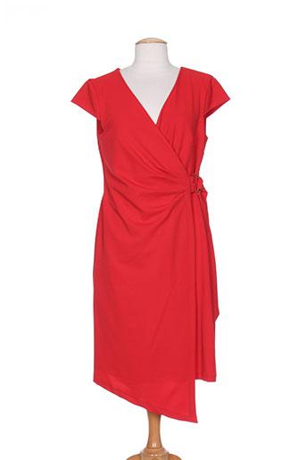 kitana robes femme de couleur rouge
