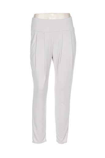 quinze heures trente pantalons femme de couleur gris