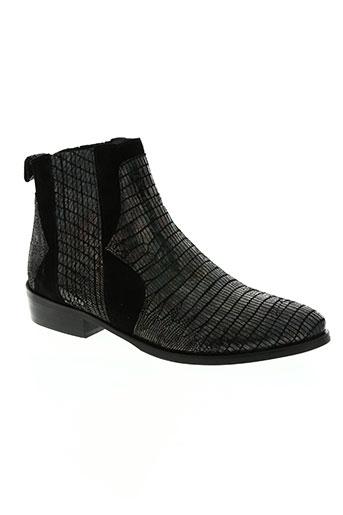 philippe morvan chaussures femme de couleur noir