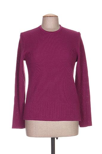 griffon pulls femme de couleur violet