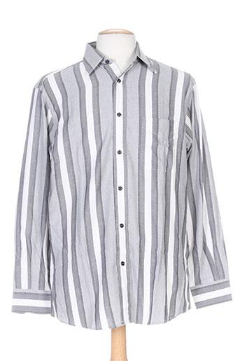 belloni chemises homme de couleur gris