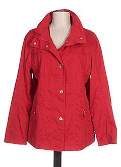 Veste casual rouge WHITE LABEL pour femme
