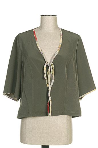 griffon vestes femme de couleur vert