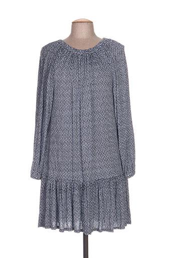 Robe mi-longue bleu BAKKER pour femme