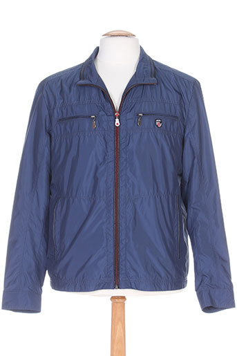 jezequel manteaux homme de couleur bleu
