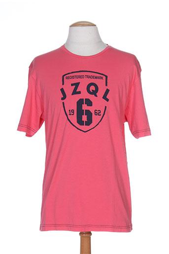 jezequel t-shirts homme de couleur rose