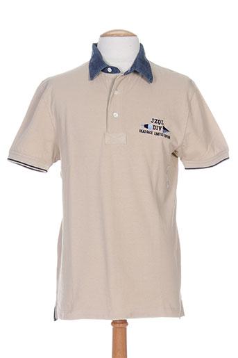 jezequel t-shirts homme de couleur beige
