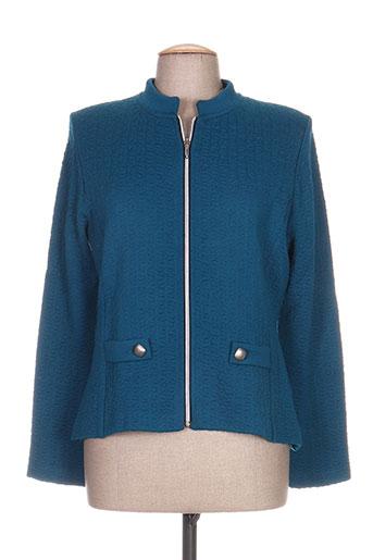 linda maglieria vestes femme de couleur bleu