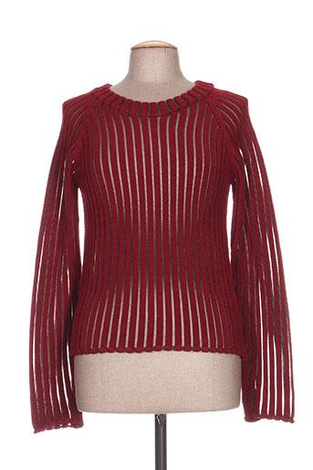 crea concept pulls femme de couleur rouge