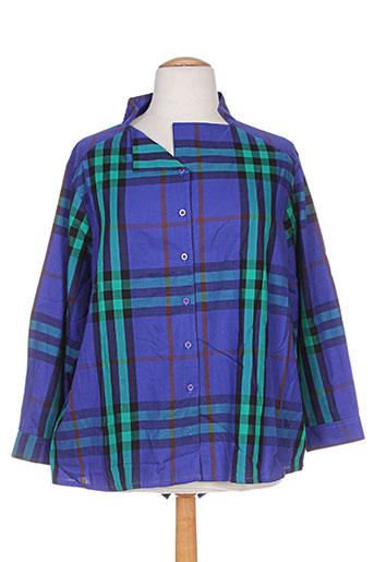 kokomarina chemises femme de couleur violet