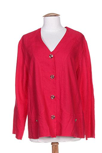 saint charles vestes femme de couleur rose