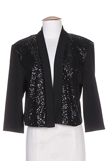 fosby vestes femme de couleur noir