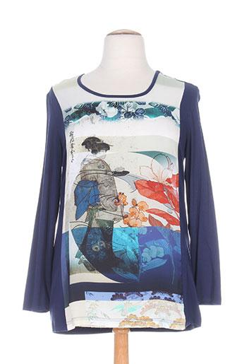 my way t-shirts femme de couleur bleu