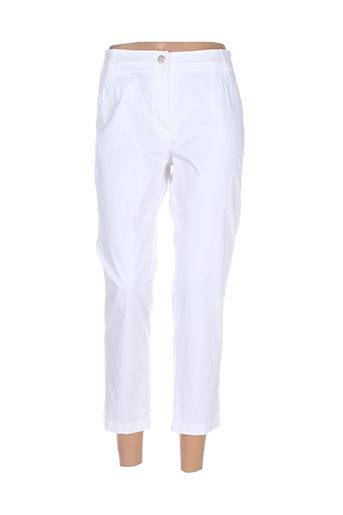 anne kelly pantacourts femme de couleur blanc