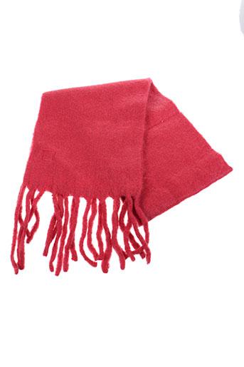 Echarpe rouge ERFURT pour unisexe