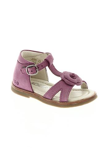 mod8 chaussures fille de couleur violet