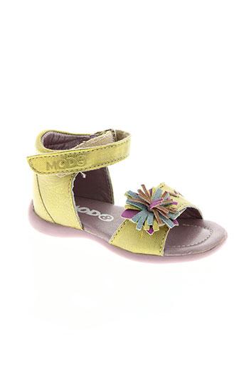 mod8 chaussures fille de couleur vert