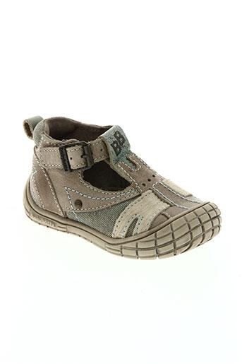 babybotte chaussures garçon de couleur beige