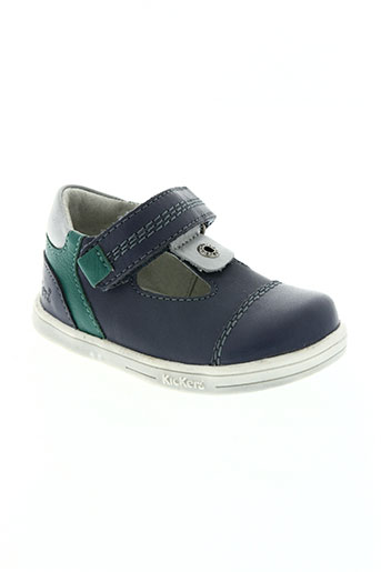 kickers chaussures garçon de couleur bleu