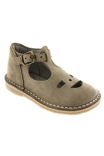 knepp chaussures garçon de couleur beige