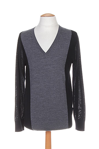 Pull col V gris PAUL SMITH pour homme
