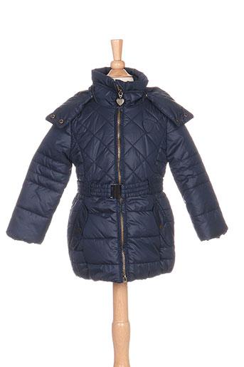 mexx manteaux fille de couleur bleu