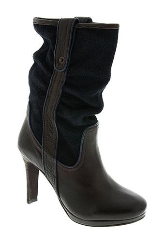 mexx chaussures femme de couleur bleu