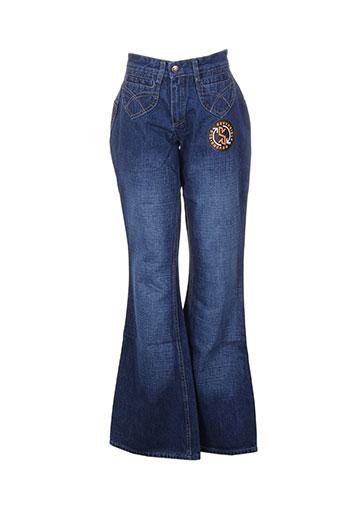 complices jeans femme de couleur bleu