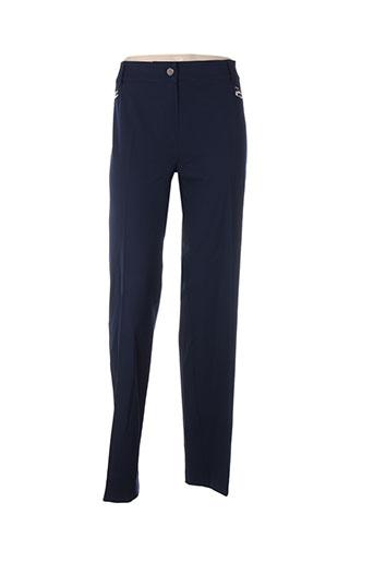 Pantalon casual bleu ABSOLU pour femme