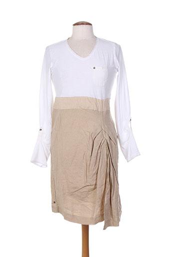 lady captain robes femme de couleur blanc
